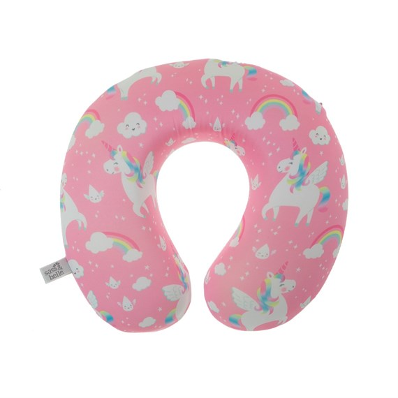 Rainbow Unicorn Travel Neck Pillow