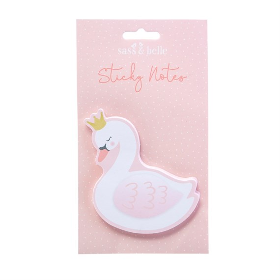 Freya Swan Shaped Sticky Notes Pad