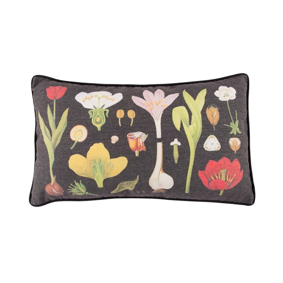 Dark Botanical Cushion