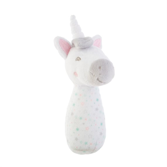 Evie Unicorn Baby Rattle