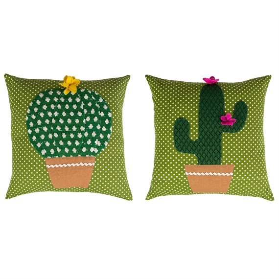 Colourful Cactus Cushion  (options available)