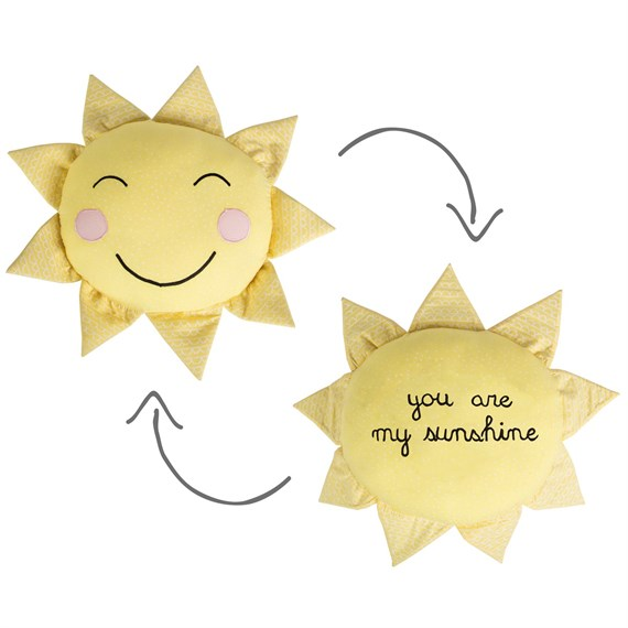 You Are My Sunshine Polka Dot Sun Cushion