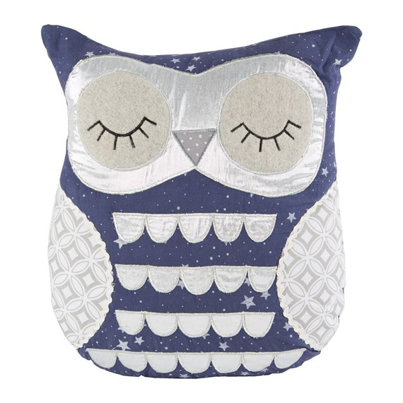 Lucas Sleepy Owl Cushion