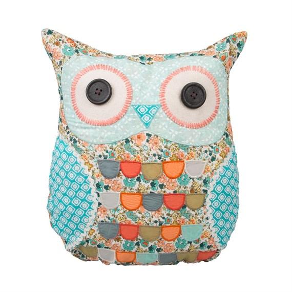 Sass /& Belle Owl Jewellery Box in Cream Colour