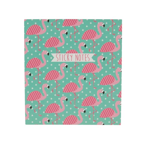 Tropical Flamingo Sticky Notes