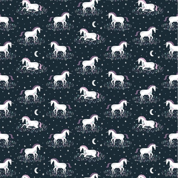 Starlight Unicorn Wrapping Paper