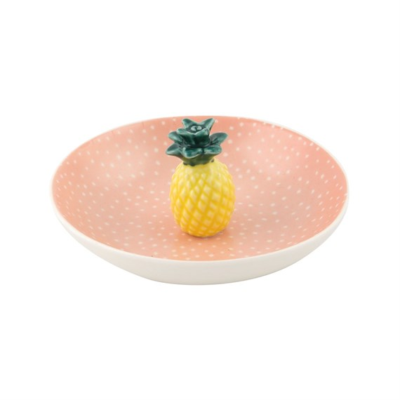 Tropical Pineapple Trinket Dish