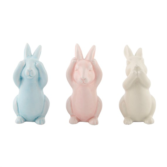 Pastel Peekaboo Bunnies (Options Available)
