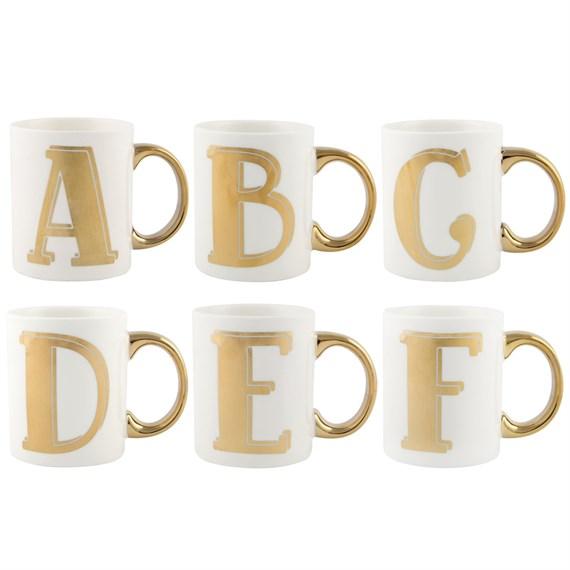 Sass /& Belle Bohémienne Mug lettre B