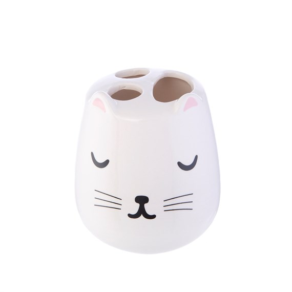 Cutie Cat Toothbrush Holder