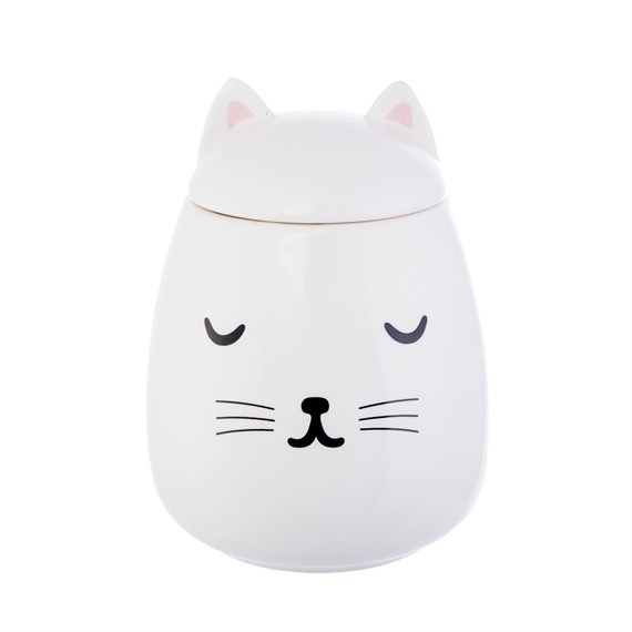 Cutie Cat Storage Jar