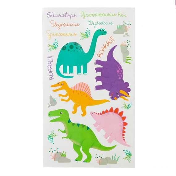 Roarsome Dinosaurs Wall Stickers Set