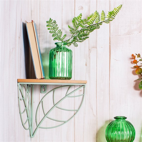 Wire Leaf Corner Shelf