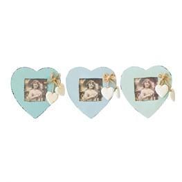 Delilah Heart Shaped Photo Frame (options available)