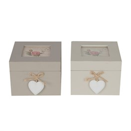 Celeste Square Trinket Box (options available)