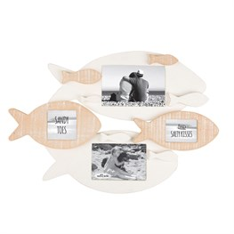 Rustic Fish Multi Wall Photo Frame