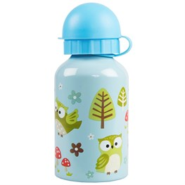 Spring Forest Owl Water Bottle
