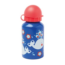 Retro Whale Water Bottle