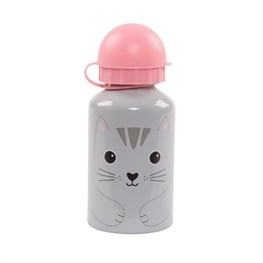 Nori Cat Kawaii Friends Kids Water Bottle