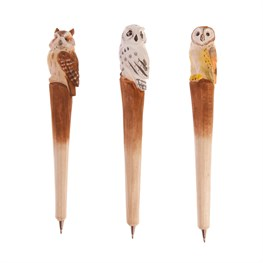 Wooden Owl Pen (options available)