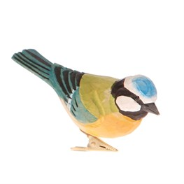 Blue British Bird Clip
