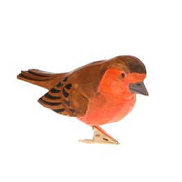 Red British Bird Clip