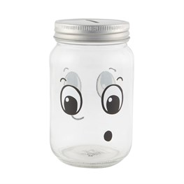 Fun Faces Jar Money Box