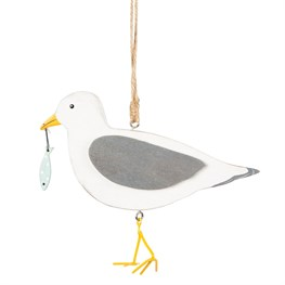 Seagull Nautical Hanging Decoration