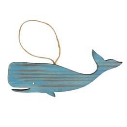 Whale Nautical Hanging Decoration