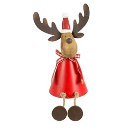 Rudi the Wiggly Legs Stag Standing Decoration