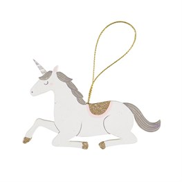 Seated Princess Unicorn Hanging Decoration