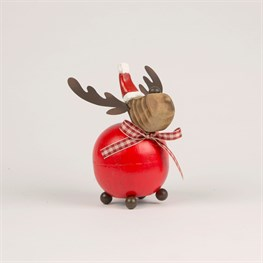 Rudolph Ate All The Mince Pies Standing Decoration