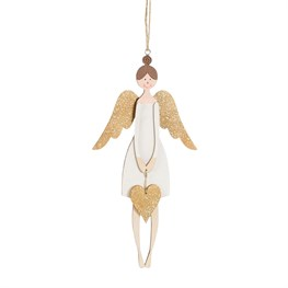 Rustic Angel Hanging Decoration