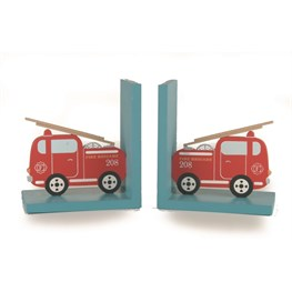 Transport Fireengine Bookends