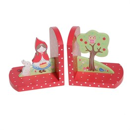 Red Riding Bookends