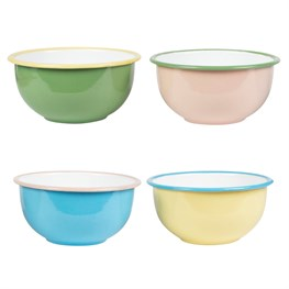 Two Tone Retro Enamel Camping Bowl  (options available)