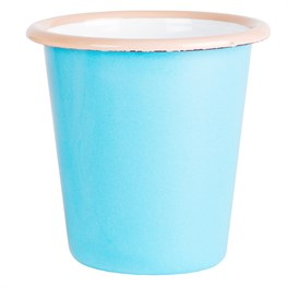 Blue Two Tone Enamel Camping Cup