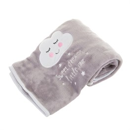 Sweet Dreams Cloud Soft Fleece Baby Blanket