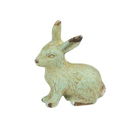 Rabbit Boudoir Drawer Knob Green