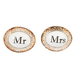 Boudoir Mr & Mrs Drawer Knob (options available)