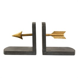Golden Arrow Bookends
