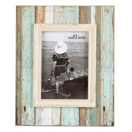Coastal Chic Driftwood Standing Frame Large
