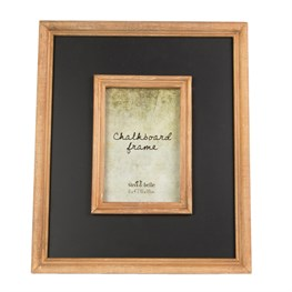 Chalkboard Border Photo Frame