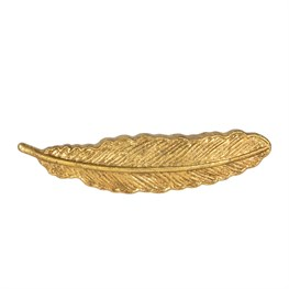 Golden Feather Vintage Drawer Knob