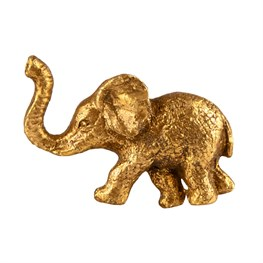 Gold Elephant Drawer Knob