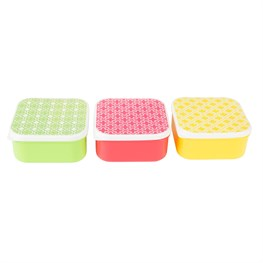 Moroccan Geometrics Square Lunch Box (options available)