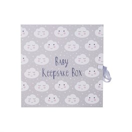 Sweet Dreams Cloud Keepsake Box with Drawers
