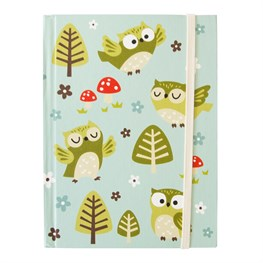 Spring Forest Owl Notebook