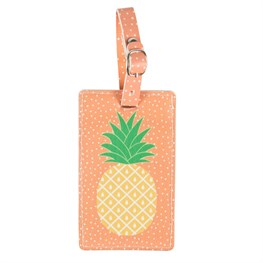 Tropical Pineapple Luggage Tag