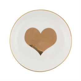 Gold Heart Trinket Dish